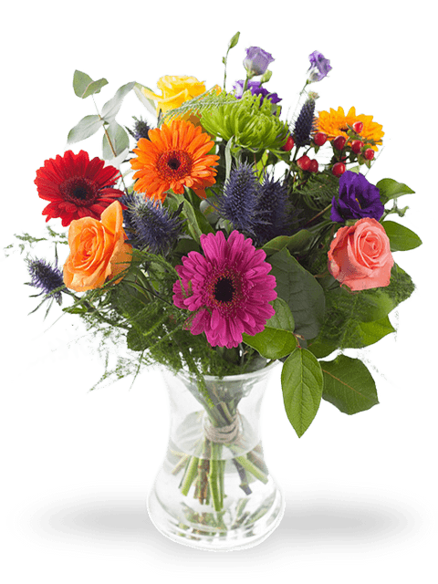 bouquet colorato misto