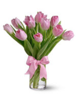 bouquet di tulipani rosa