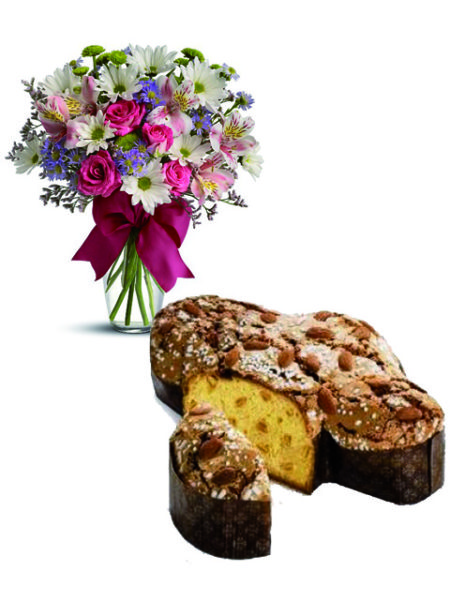 colomba e bouquet beautiful